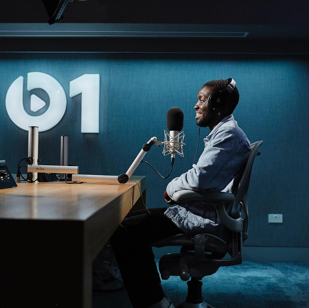 """Odunsi the Engine sits with host Julie Adenuga on Beats 1 following the release of his single, """"Tipsy"""" featuring Raye."""