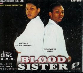 What are the names of the lead characters in 'Blood Sisters'?