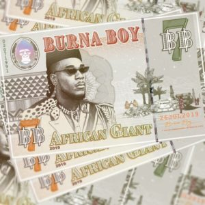 Burna Boy's African Giant