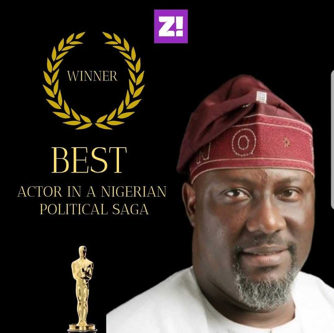 Dino Melaye is a professional actor.