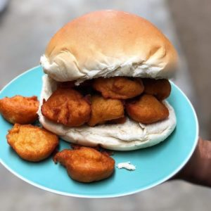 Bread and Akara