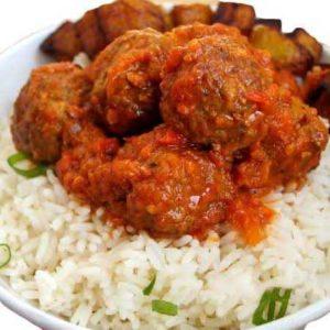 White Rice + Stew