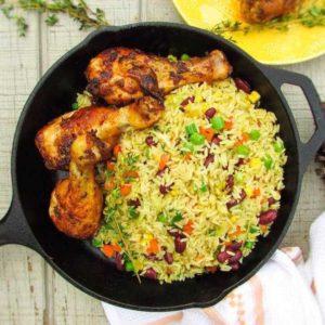 Fried Rice + Chicken