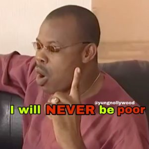 Never be poor