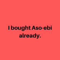 Aso-ebi
