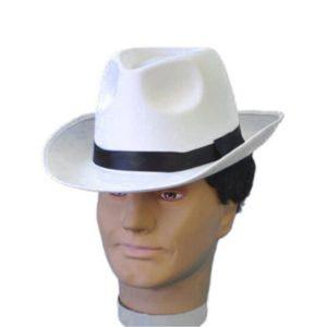 Bowler hat (worn at a jaunty angle)