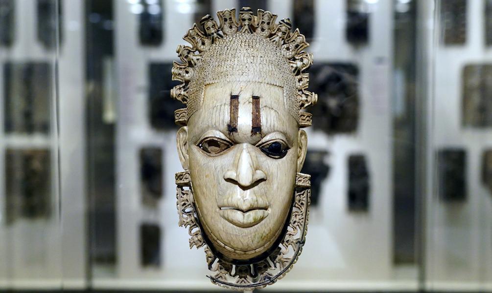 The Benin Queen Imasuen mask was the official emblem of FESTAC '77.