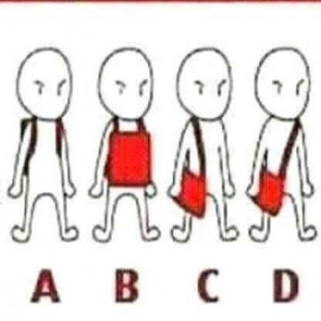 How did you use to carry your bag?