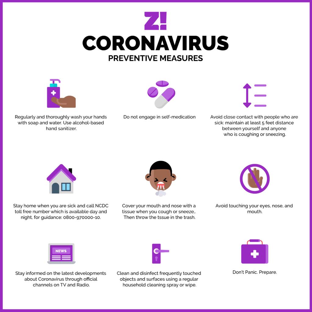 How to prevent coronavirus in Nigeria