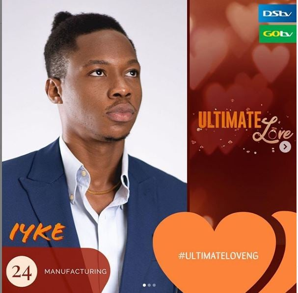 Ultimate love day 25 iyke