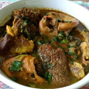 Assorted pepper soup