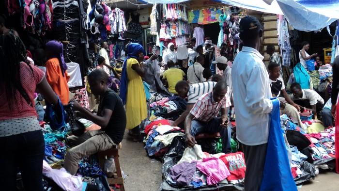 jeans in Yaba market, Zikoko halfnaked