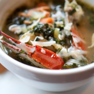 Seafood pepper soup