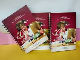Image result for printed jotter for nigerian church