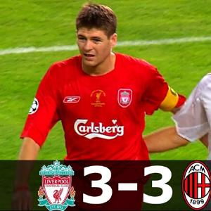 Liverpool vs AC Milan.