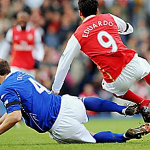 Eduardo's injury.