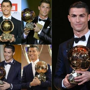 Ronaldo's 5th Ballon d'or.