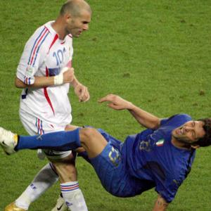 Zidane vs Materazzi.