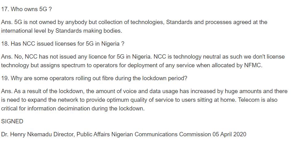 5G network danger