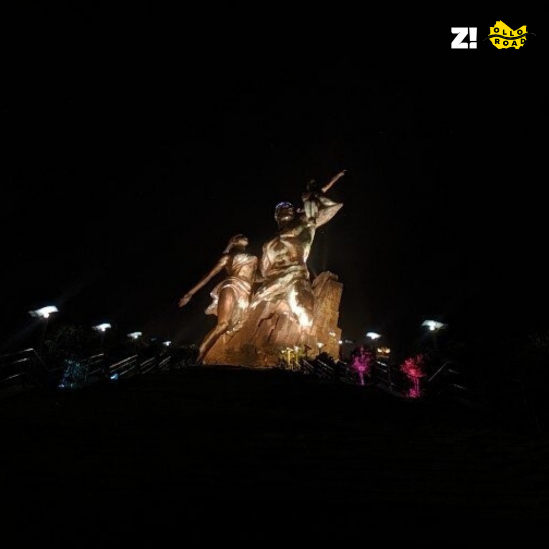 Where is the African Renaissance Monument?