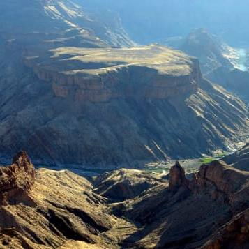 Where is Fish River Canyon?