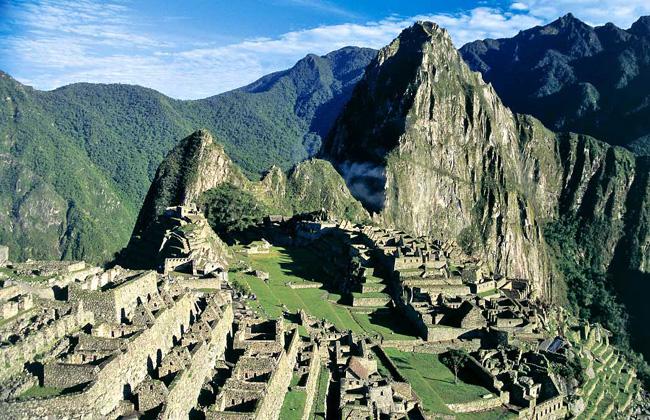 Where is the Machu Picchu?