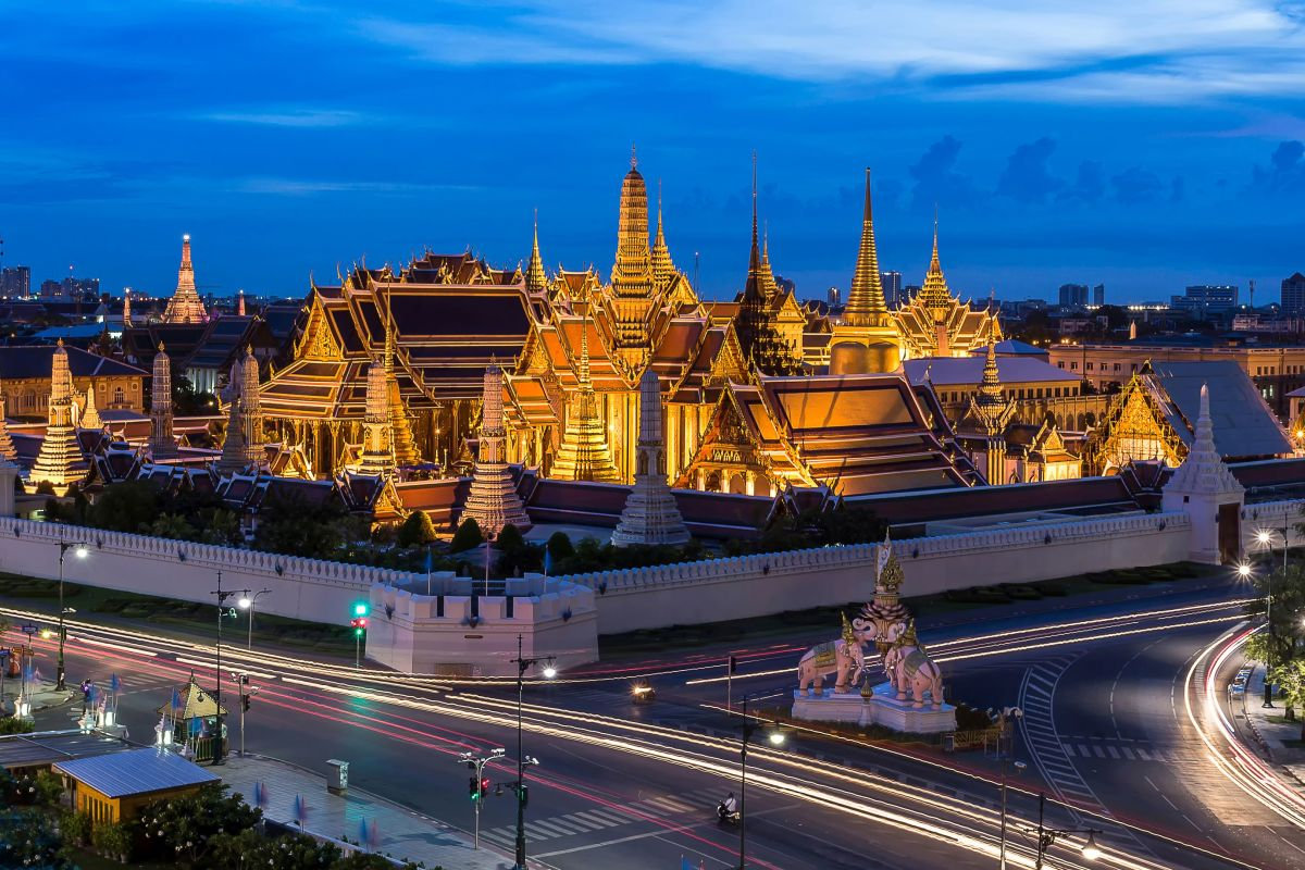 Where is The Grand Palace?