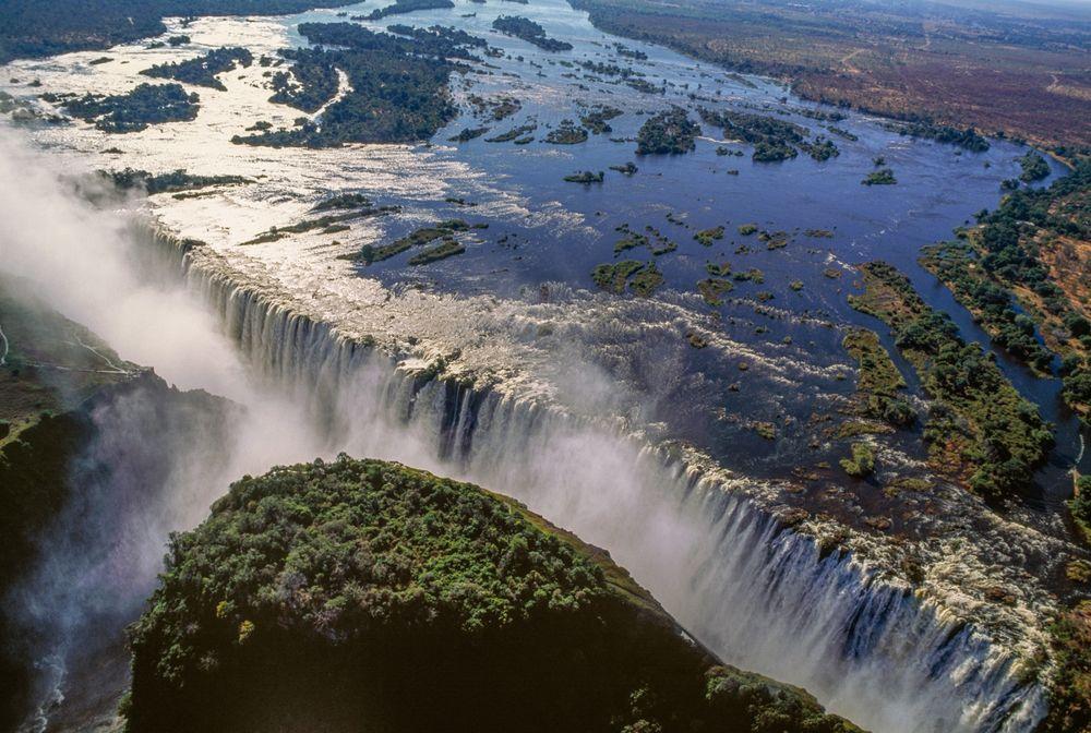 Where is Victoria Falls?