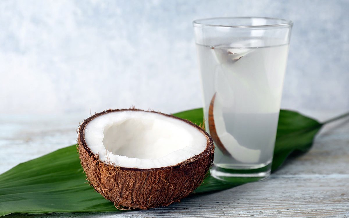 What does drinking coconut water do to you?