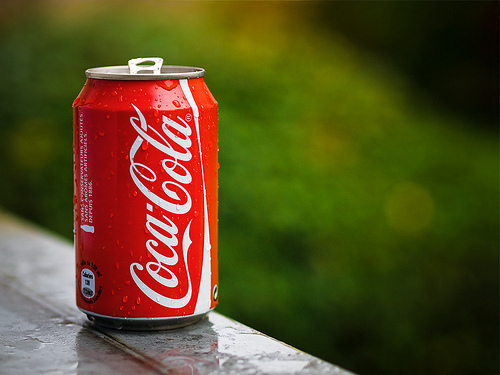 If you drink coke and eat a/an ___________, you will die.
