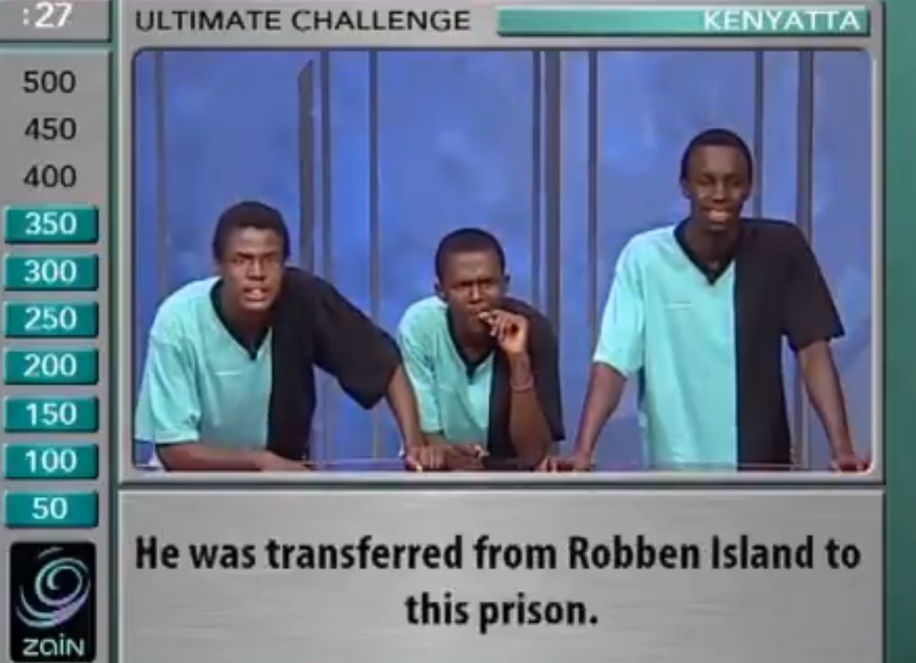 Mandela was transferred to which prison after Robben Island?