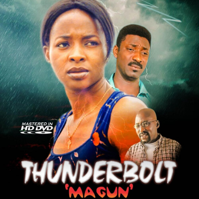 Who directed the 2001 movie, 'Thunderbolt: Magun'?