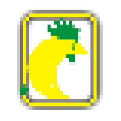 This pixelated logo is for which chain?