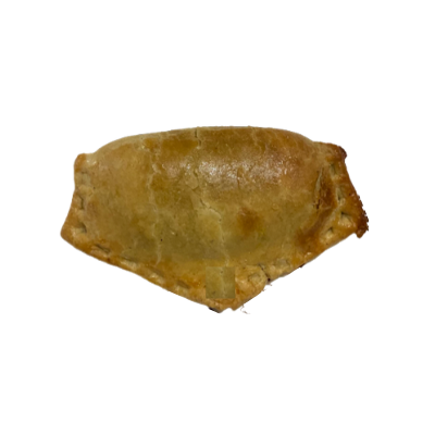 Which chain's meat-pie is shaped like this?
