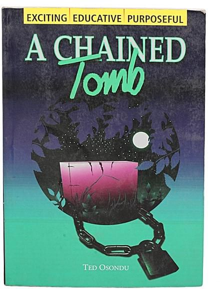 In 'A Chained Tomb', who informs Uze of his mother's death?
