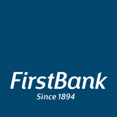 Which animal is on the First Bank logo?