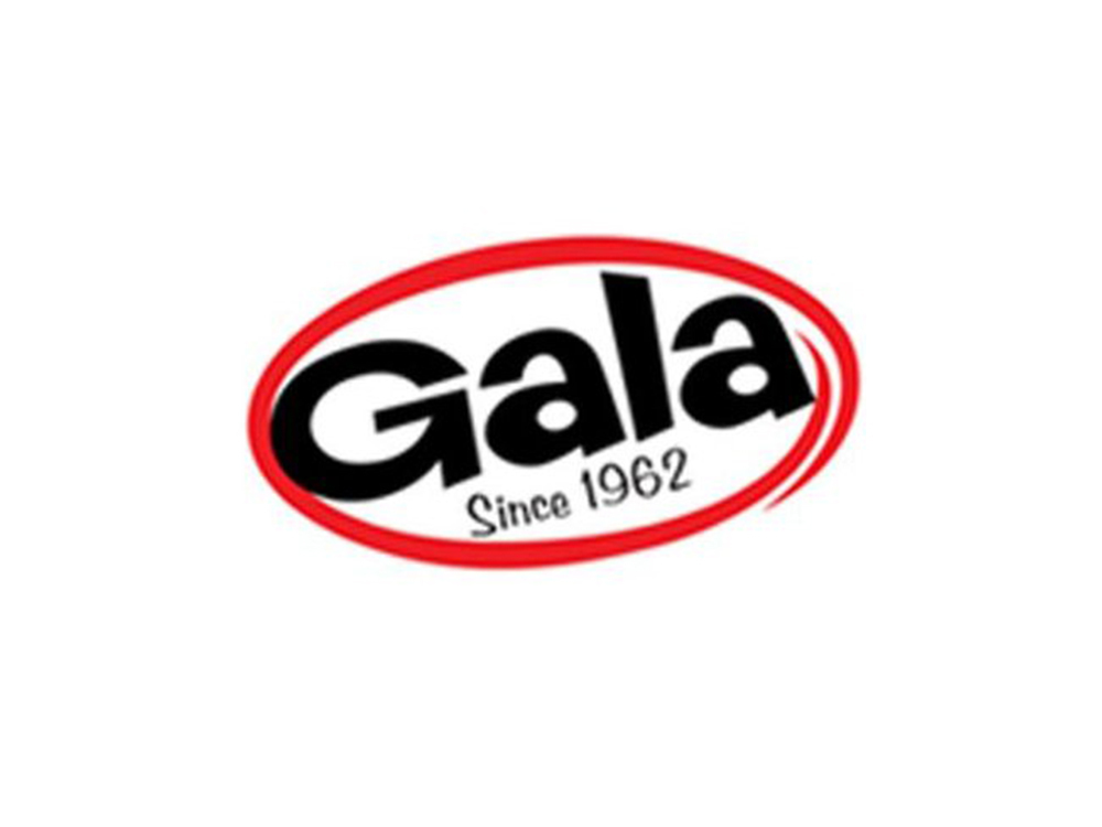 The outline of which animal is found on the wrapper of Gala?