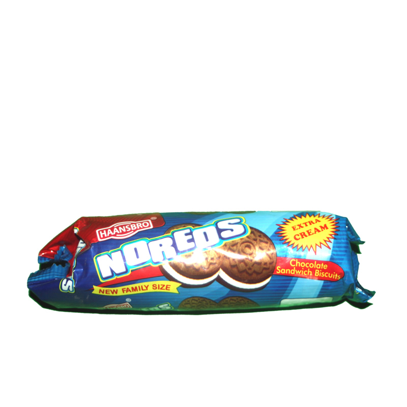 Noreos is an imitation of which foreign cookie brand?