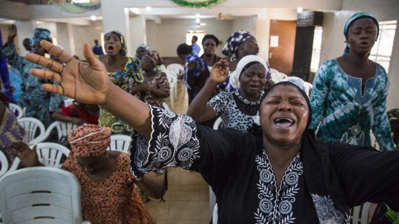 praying nigerian mothers