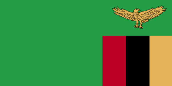 What is the official language of Zambia?