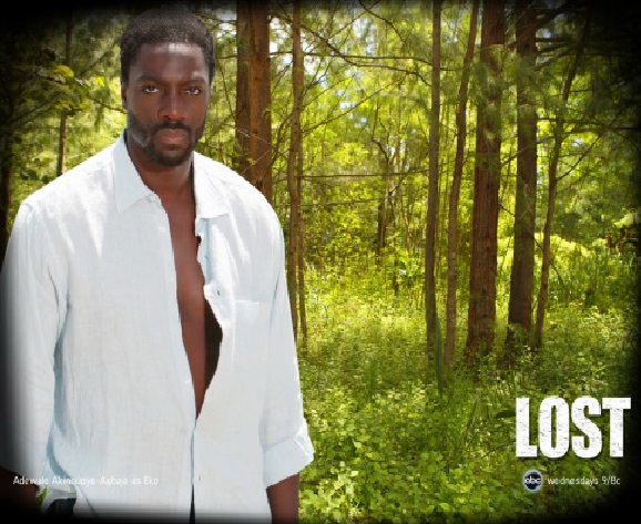 Which Nigerian Hollywood actor starred in the 2nd season of LOST?