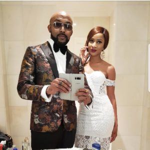 Banky W and Adesuwa Etomi