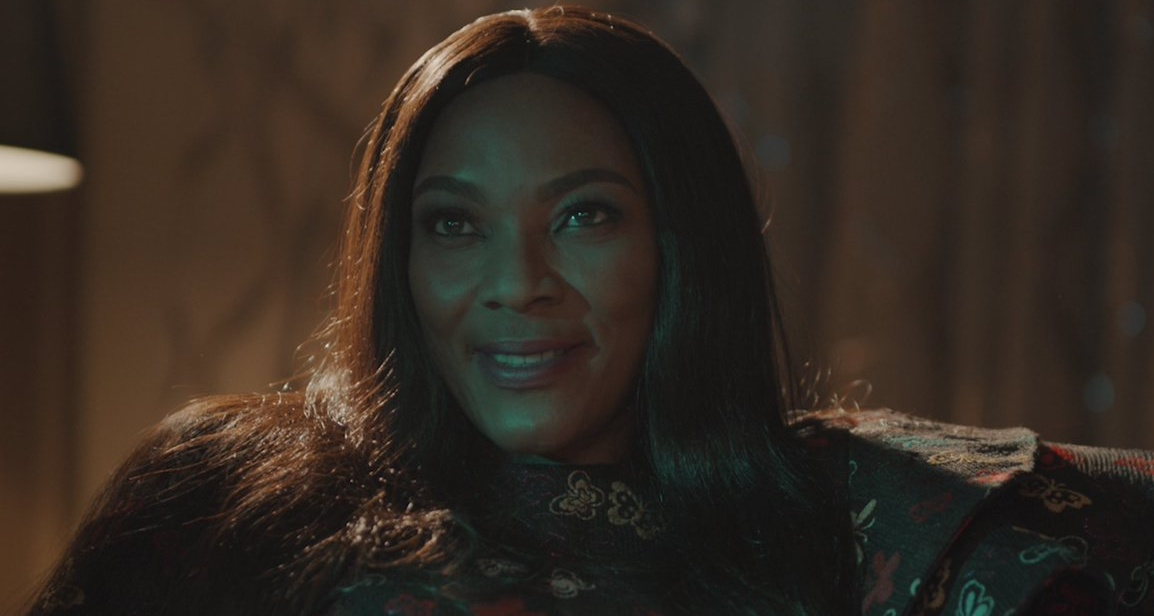 This is Tina Mba as the villain what movie?