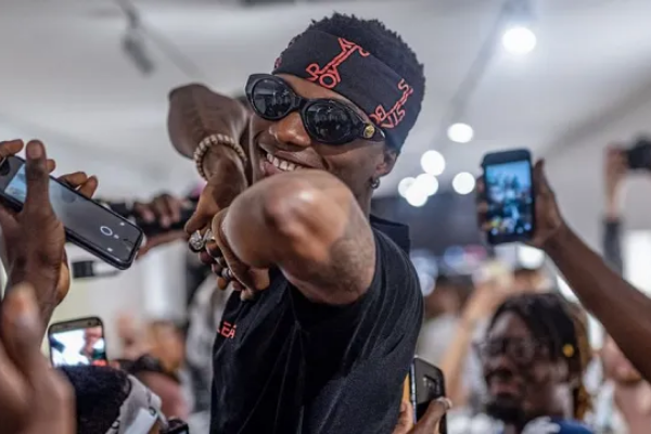 What's the name of Wizkid's clothing line?