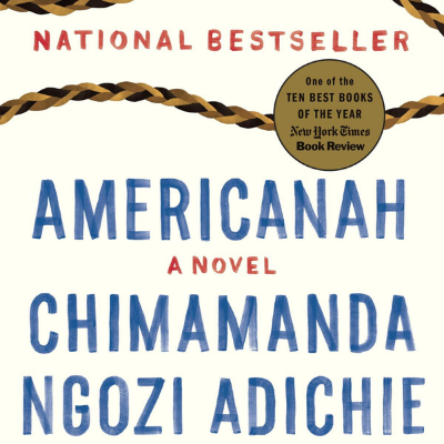 What's the name of the protagonist in Chimamanda's 'Americanah'?