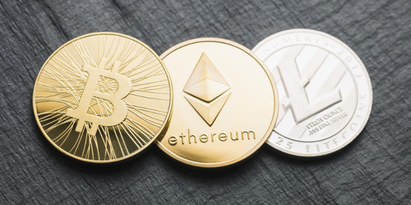 cryptocurrency: bitcoin, ethereum or litecoin