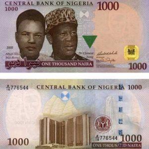 1,000 Naira