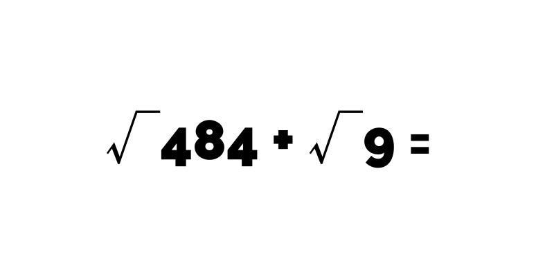 Mathematics: Solve this without using a calculator.