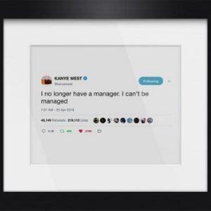 Framed Tweet