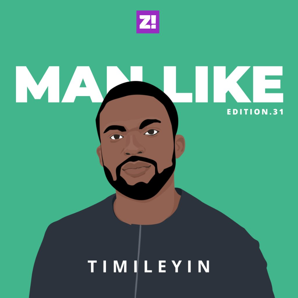 Crying Doesn't Make You Less Of A Man — Man Like Timileyin
